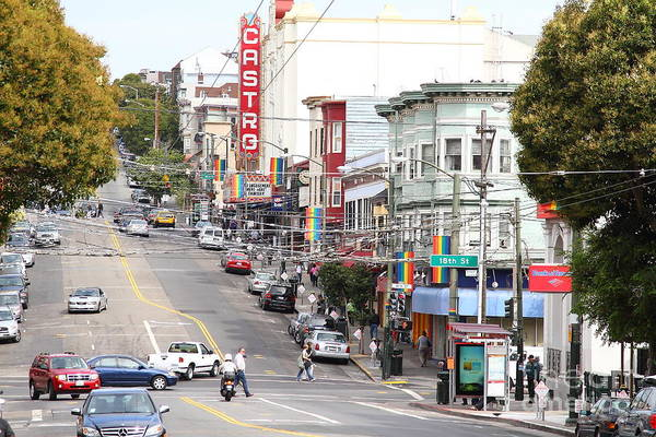 Transgender Photograph - The Castro In San Francisco . 7d7567 by Wingsdomain Art and Photography