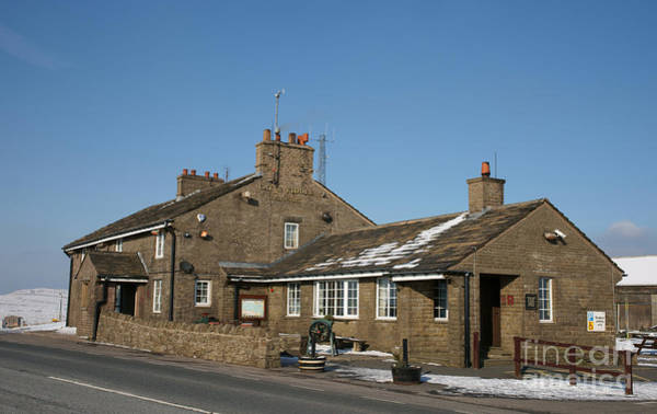 Photograph - The Cat And Fiddle Pub At Macclesfield by David Birchall