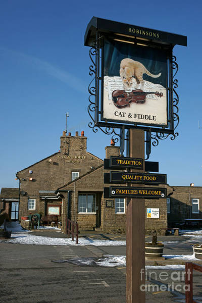Photograph - The Cat And Fiddle Pub by David Birchall