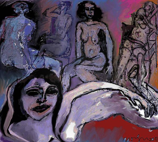 Wall Art - Mixed Media - The Cave by Noredin Morgan