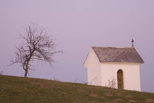 Jance Photograph - The Chapel On The Hill by Ian Middleton