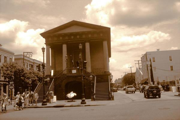 Photograph - The Charleston Slave Market by Emery Graham