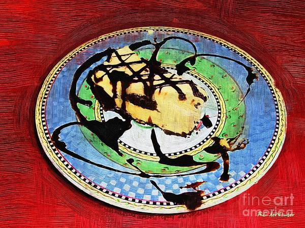 Painting - The Chipped Plate by RC DeWinter