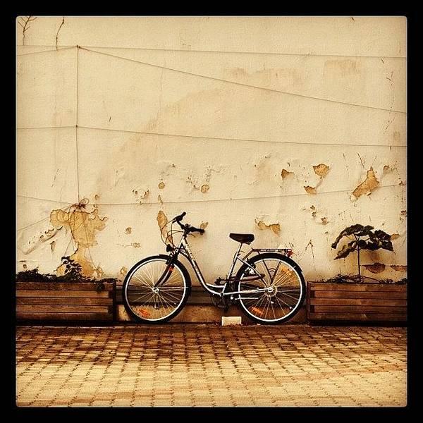 Handmade Wall Art - Photograph - The Classical #bike Snapshot by Ronald Duck