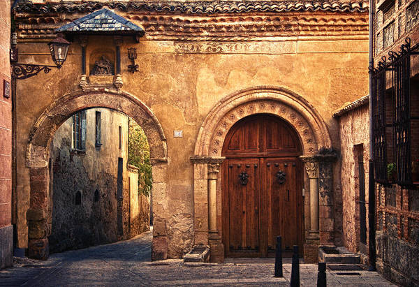 Photograph - The Claustra Gate In Segovia by Levin Rodriguez