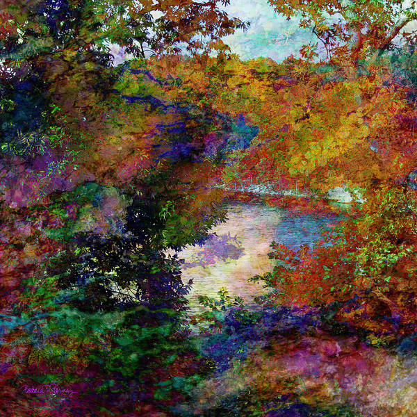 Digital Art - The Clearing by Barbara Berney