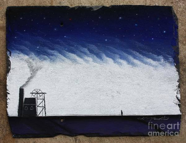 The Coal Miner Art Print