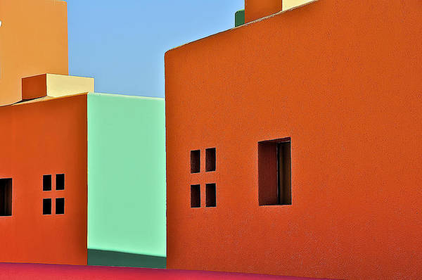 the Colors of Mexico Art Print