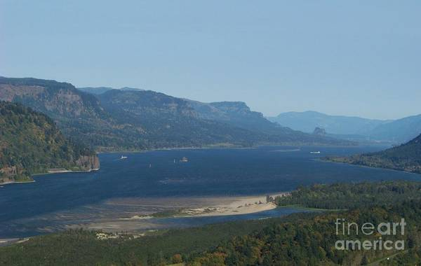 Photograph - The Columbia River Gorge by Charles Robinson