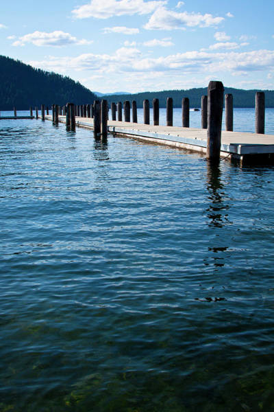 Priest Lake Photograph - The Coolin Dock by David Patterson