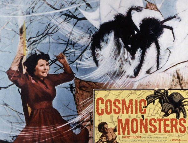 1958 Movies Photograph - The Cosmic Monster, Aka Cosmic by Everett