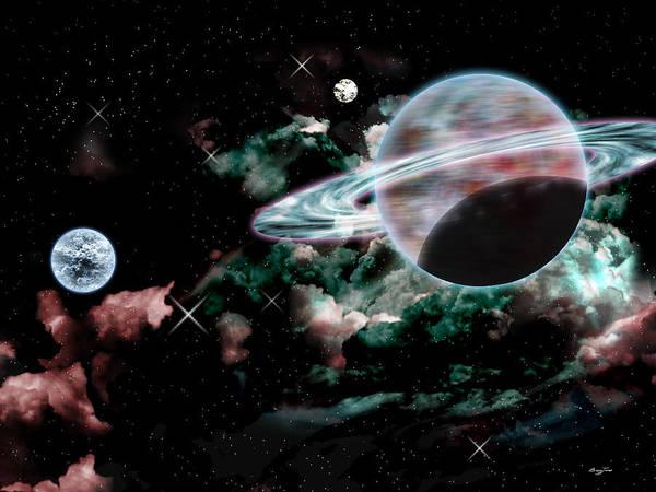 Digital Art - The Cosmos by Barry Jones