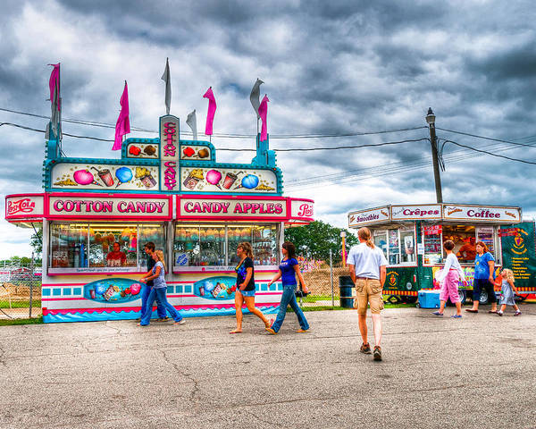 Photograph - The County Fair by Richard Kopchock