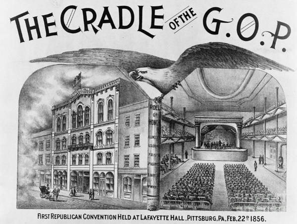 Gop Photograph - The Cradle Of The Gop by Photo Researchers
