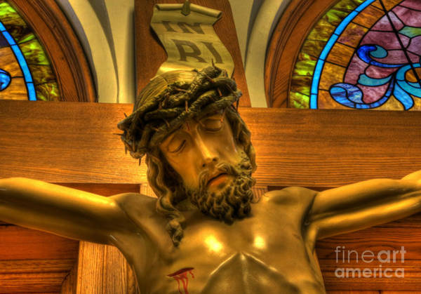 Wall Art - Photograph - The Crucifiction Of Jesus Of Nazareth by Lee Dos Santos