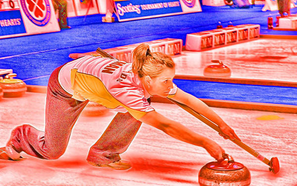 Photograph - The Curler by Lawrence Christopher