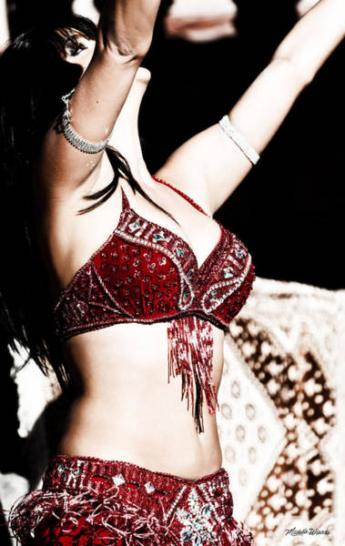 Belly Dancers Photograph - The Dancer by Michelle Constantine