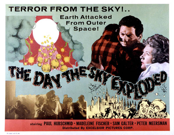 1958 Movies Photograph - The Day The Sky Exploded, Massimo by Everett