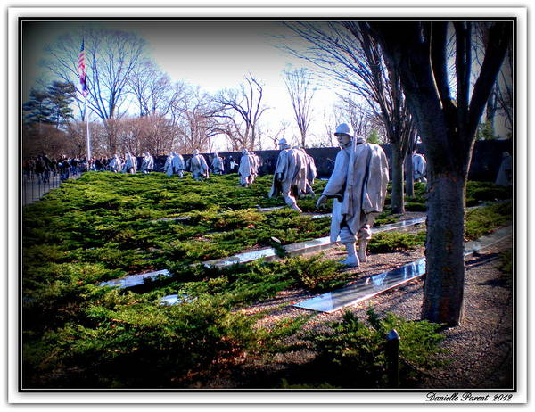 Photograph - The Dc War Memorials Washington  D.c. by Danielle  Parent
