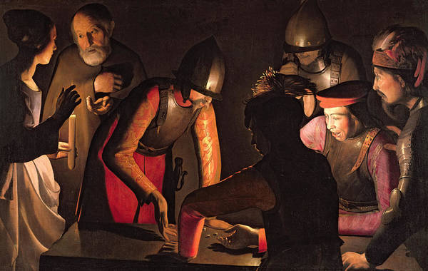 Denial Painting - The Denial Of Saint Peter by Georges De La Tour