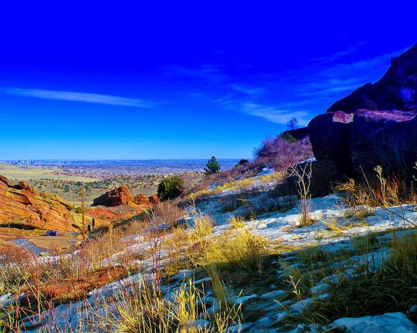 Photograph - The Denver Skyline Iv by David Patterson