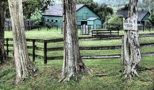 Warrenton Wall Art - Photograph - The Dog Patch by JC Findley
