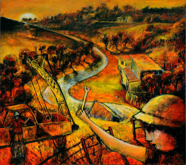 Painting - The Driller by Jeremy Holton