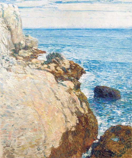 Painting - The East Headland by Childe Hassam