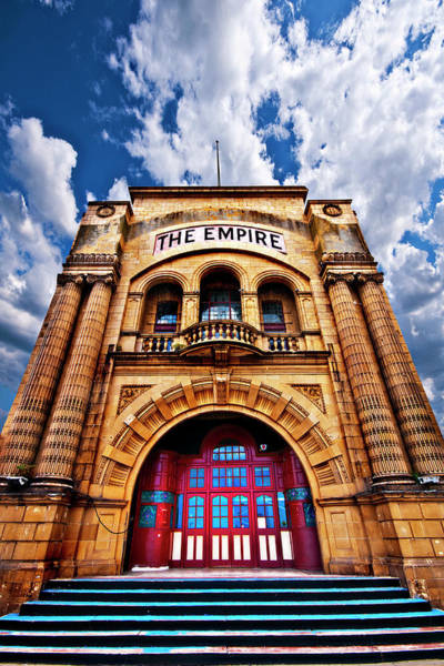 The Empire Photograph - The Empire Theatre by Meirion Matthias
