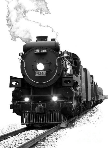 Train Photograph - The Empress by Vivian Christopher