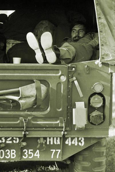 Fort Bragg Photograph - The Eternal Wait by Jan W Faul