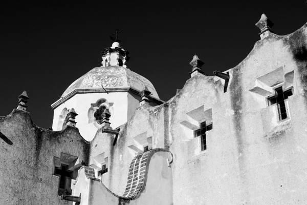Atotonilco Photograph - The Exterior Of A Church by Ralph Lee Hopkins