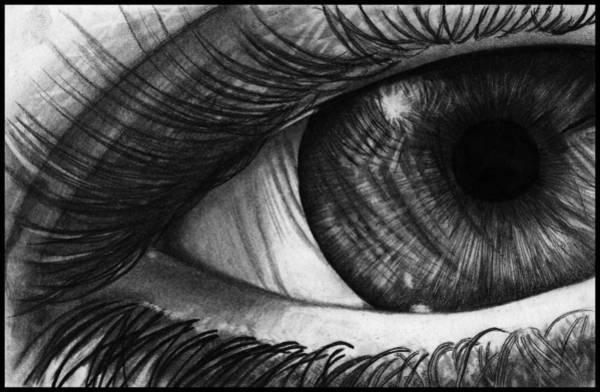 Wall Art - Drawing - The Eye by Alycia Ryan