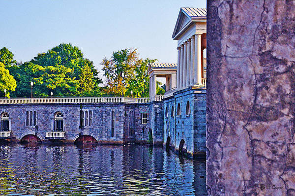 Photograph - The Fairmount Waterworks In Philadelphia by Bill Cannon