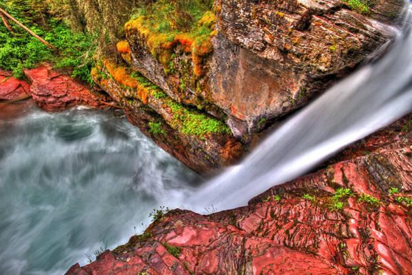 Box Canyon Wall Art - Photograph - The Fall by Scott Mahon