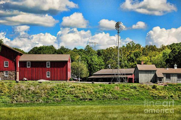 Farmstead Photograph - The Farmstead by Paul Ward