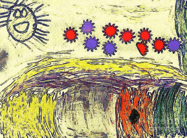 Gitana Wall Art - Painting - The Field by Odon Czintos