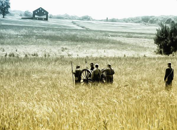 Photograph - The Fields Of Gettysburg by Bill Cannon