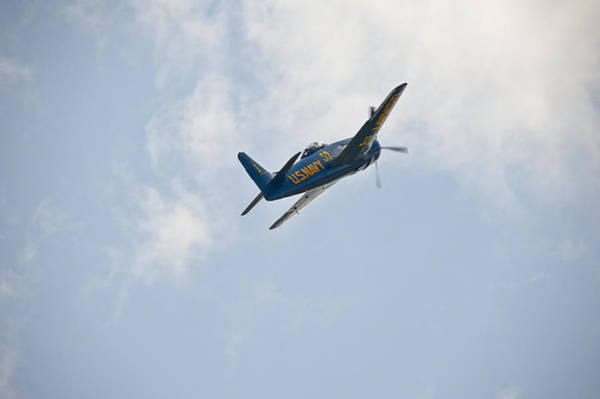 Photograph - The First Blue Angel by Rick Hartigan