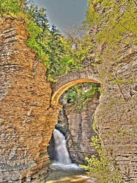 Wall Art - Photograph - The First Bridge In Watkins Glen by Joshua House