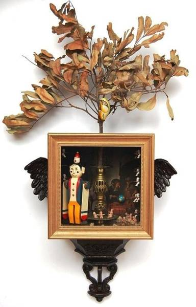 Twig Mixed Media - The Fledgling by Michael Chomick