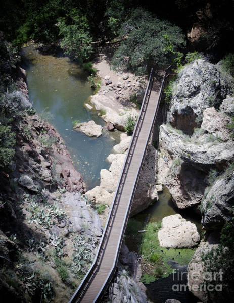 Photograph - The Foot Bridge by Donna Greene