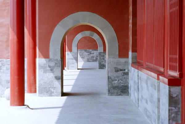 Photograph - The Forbidden City In Beijing In China by Shaun Higson