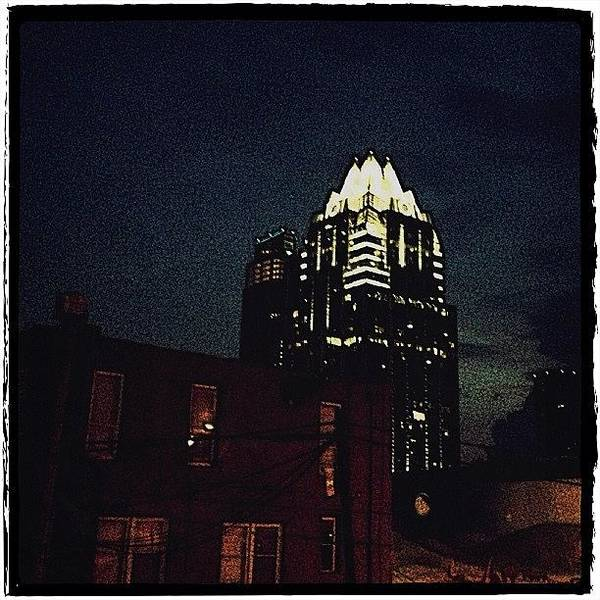 Artwork Wall Art - Photograph - The Frost Bank Tower by Natasha Marco