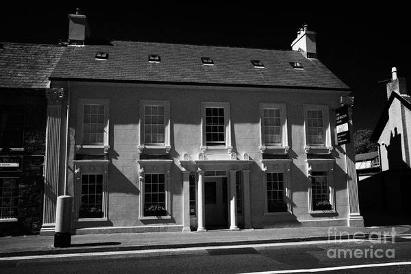 Wall Art - Photograph - The Georgian House Restored Restaurant And Coffee House In The Square Comber County Down by Joe Fox