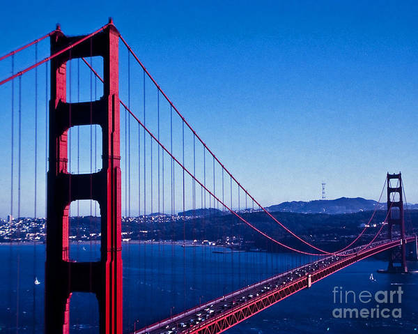 Wall Art - Photograph - The Golden Gate Bridge by Stephen Whalen