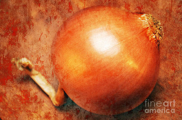 Photograph - The Golden Onion by Andee Design