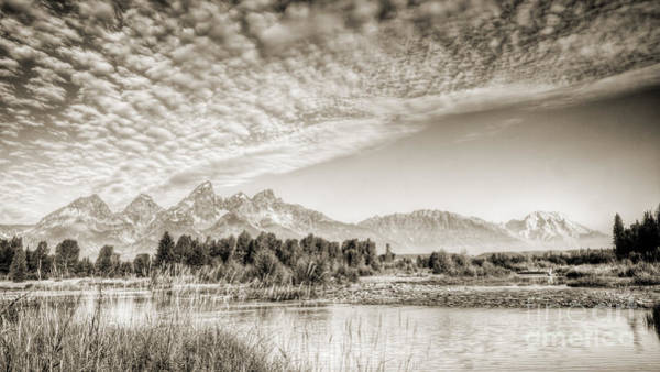 Wall Art - Photograph - The Grand Tetons In Jackson Wyoming by Dustin K Ryan