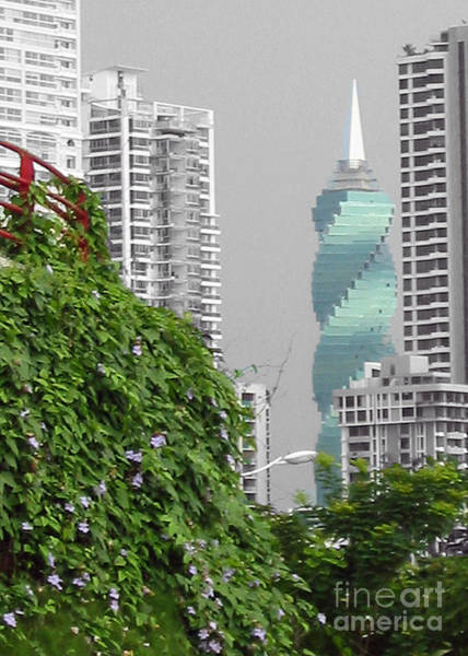 The Green Season In Panama Art Print