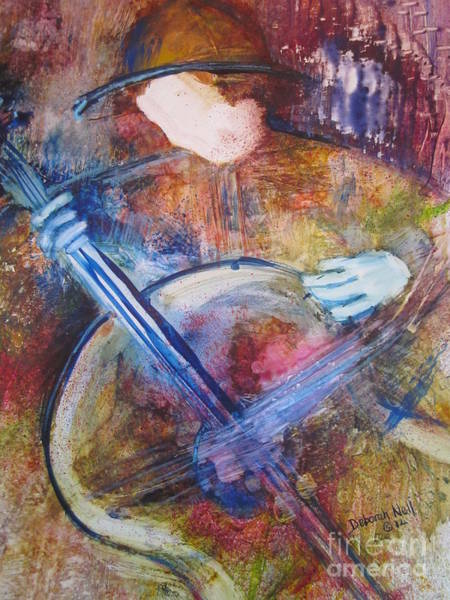 Painting - The Guitar Player by Deborah Nell